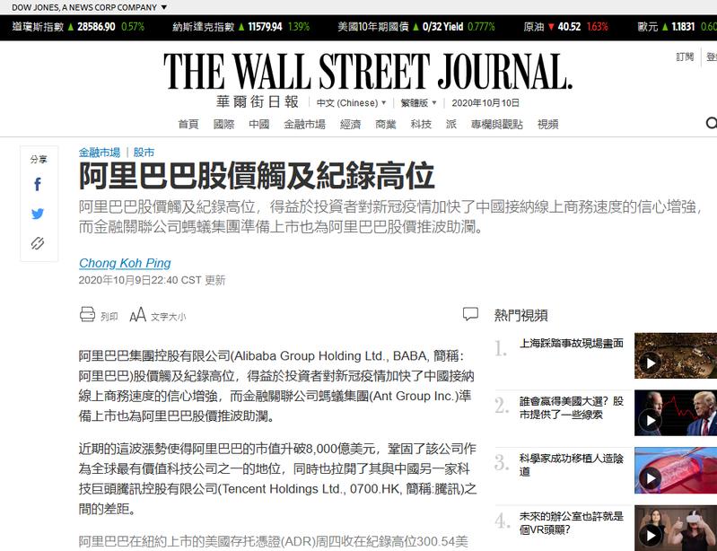 Screenshot_2020-10-10 阿里巴巴股價觸及紀錄高位.png