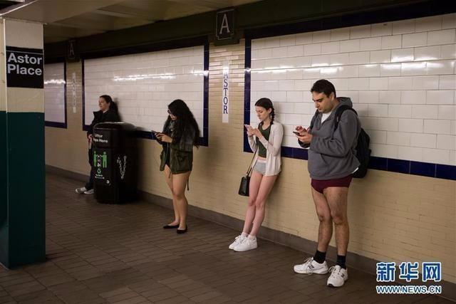 """1月12日纽约举行""""不穿裤子搭地铁""""活动RnQWNMiJ1JTmaT.jpg"""
